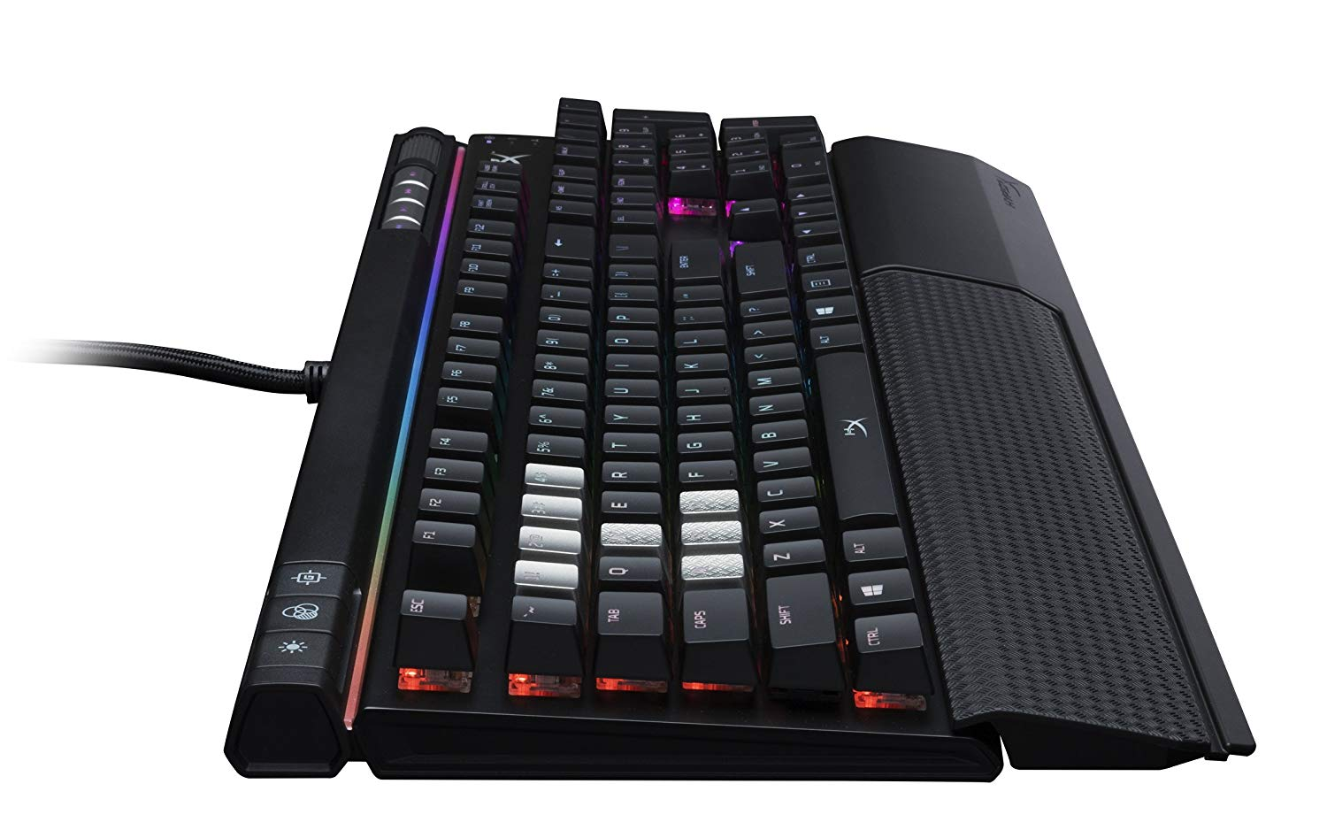 Gaming Keyboard HyperX Alloy Elite RGB Image 2 side view