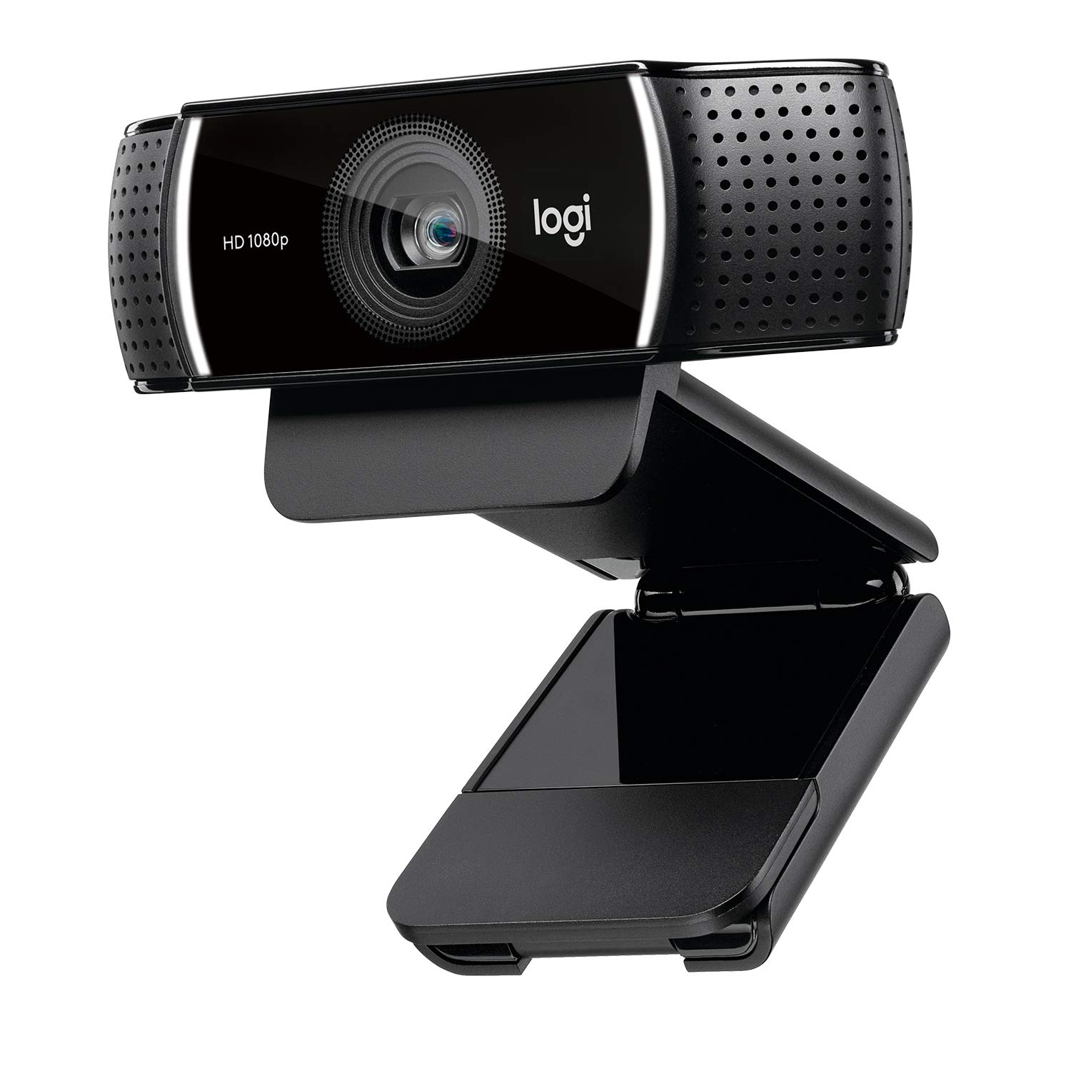 Gaming Webcam Logitech_C920 C922x Pro Stream Side View