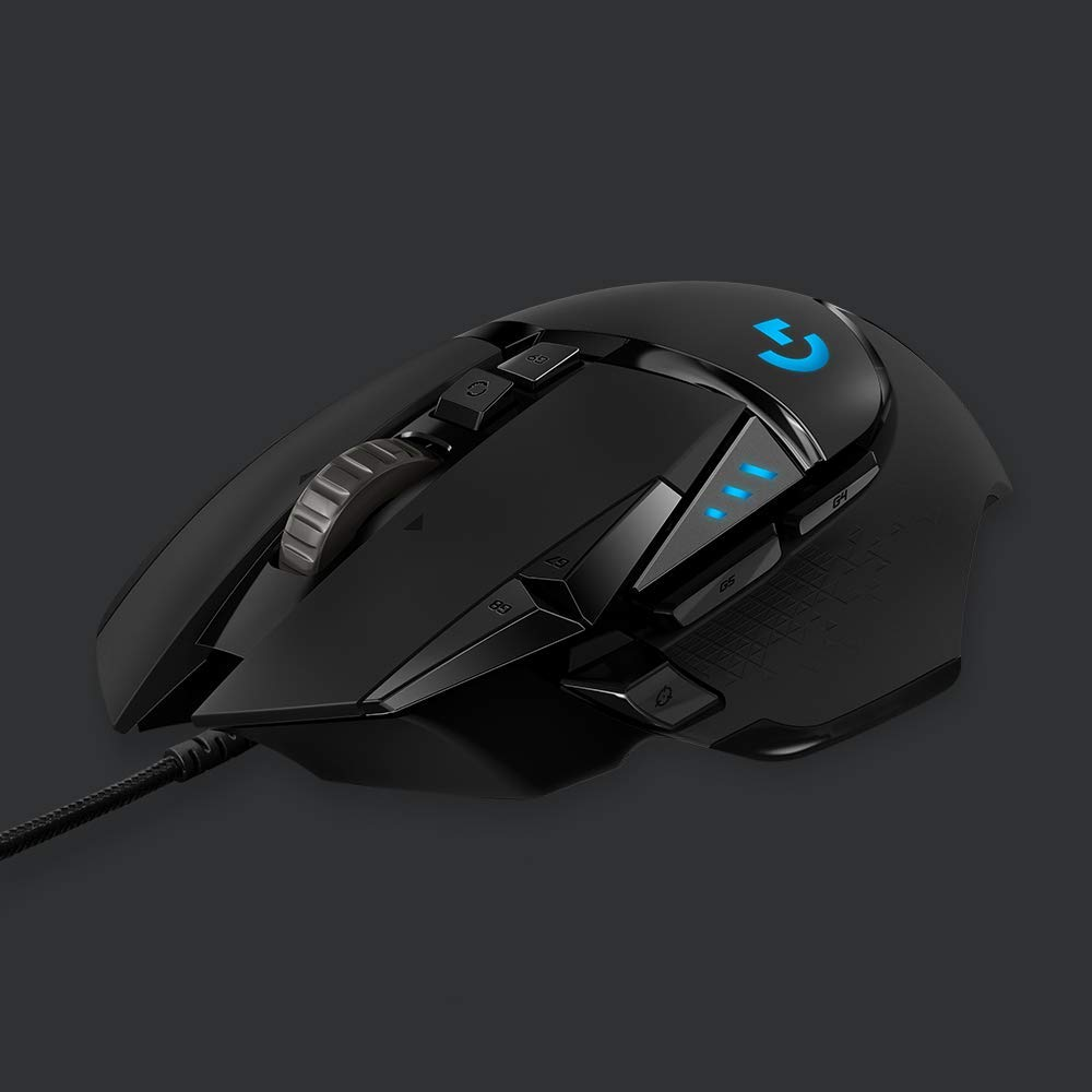 Logitech G502 HERO High Performance Gaming Mouse Image 1