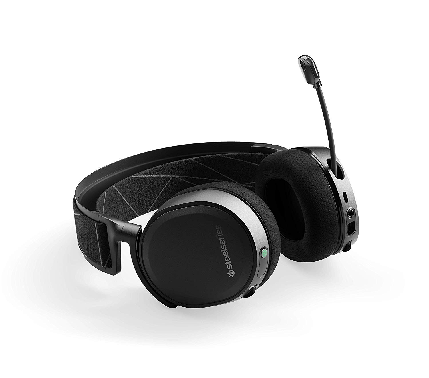 gaming headset SteelSeries Arctic 7 mic view