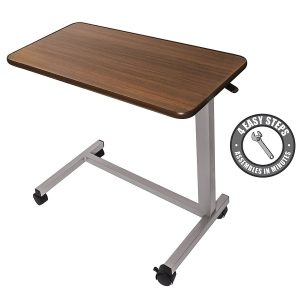 vaunn medical bed side desk tray