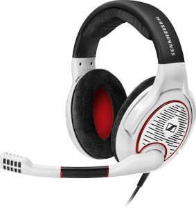 sennheiser popular gaming headset white