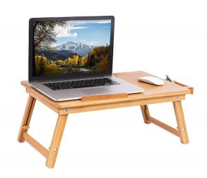 sofia + sam wooden laptop tray for bed