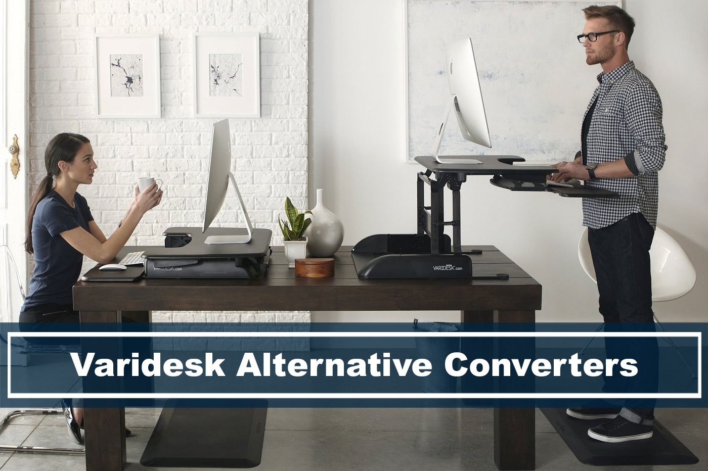 top selling varidesk alternatives and competitor desk converters
