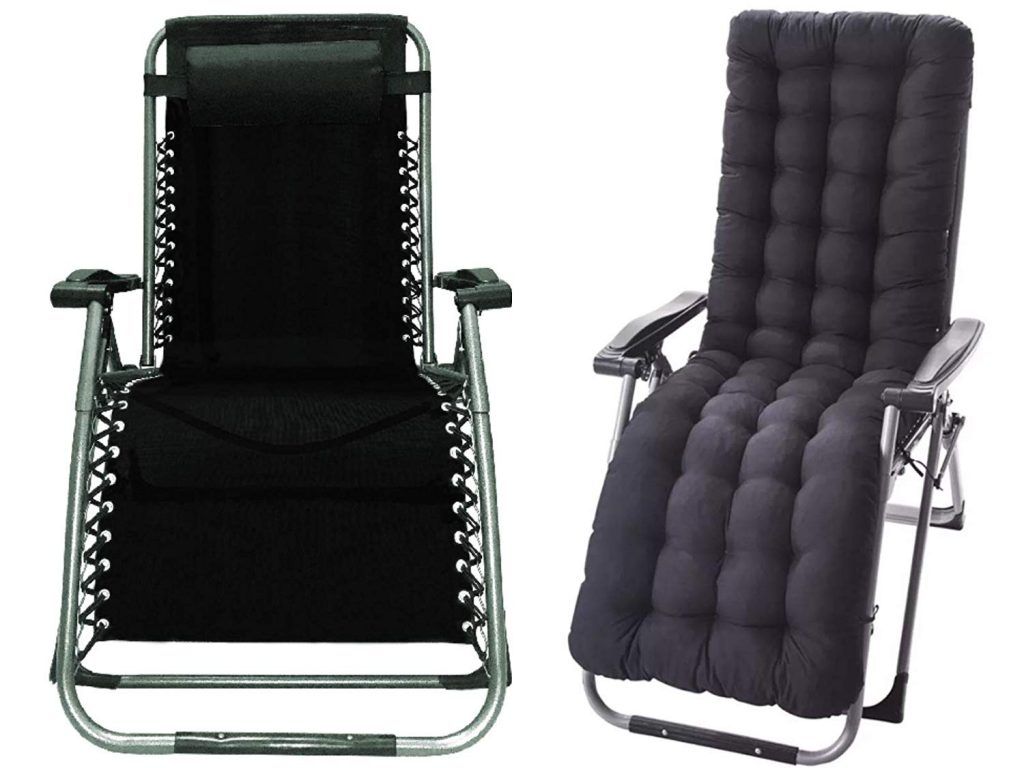 four seasons with cushion product page one of the best zero gravity chairs