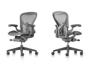 Herman Miller Aeron, desk advisor