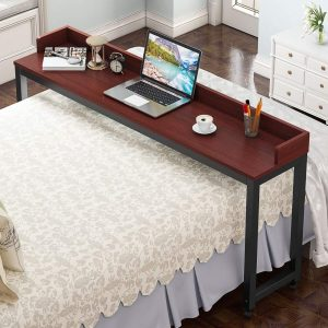 tribesigns queen size large heavy duty overbed table