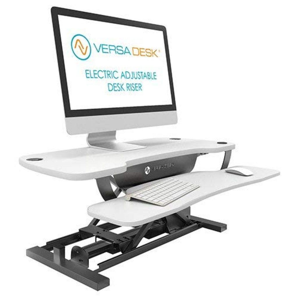 versadesk power pro electric sit-stand workstation converter