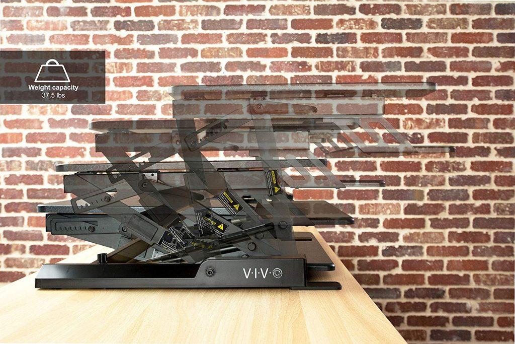 vivo desk side profile