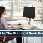standard desk height featured image