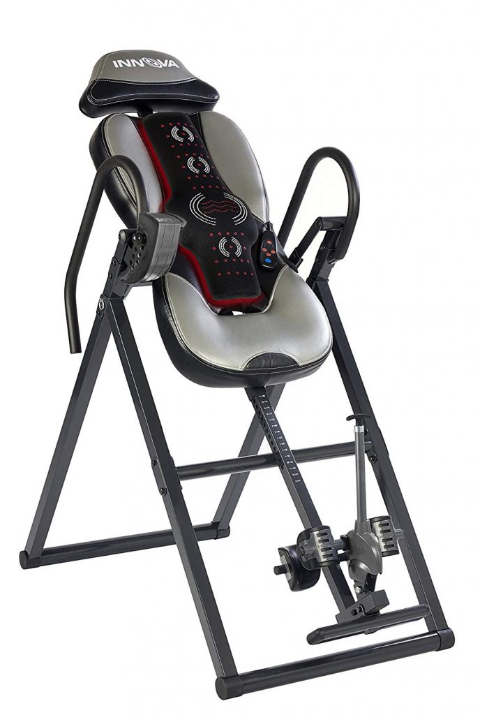 massage and heat therapy inversion table innova itm 5900