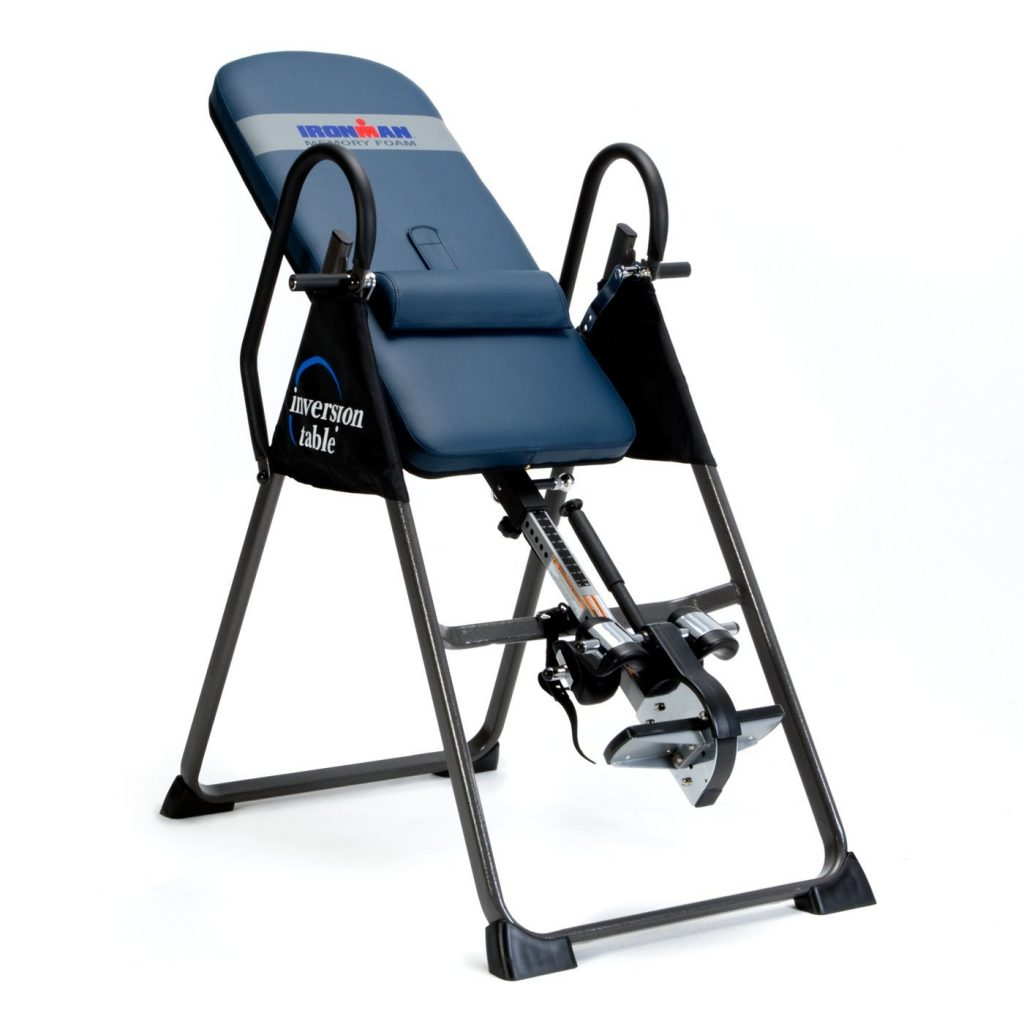best overall back pain relief inversion table ironman gravity 4000