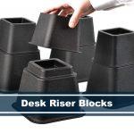 desk riser blocks