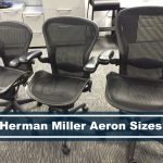 different sizes for Herman Miller Aeron chair