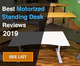 best motorized standing desk ad