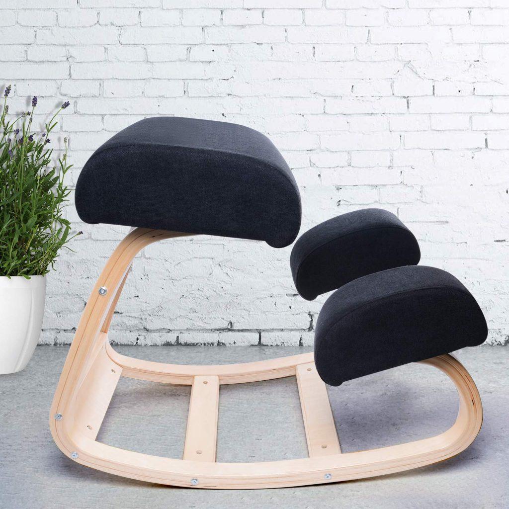 ergonomic kneeling rocking chair