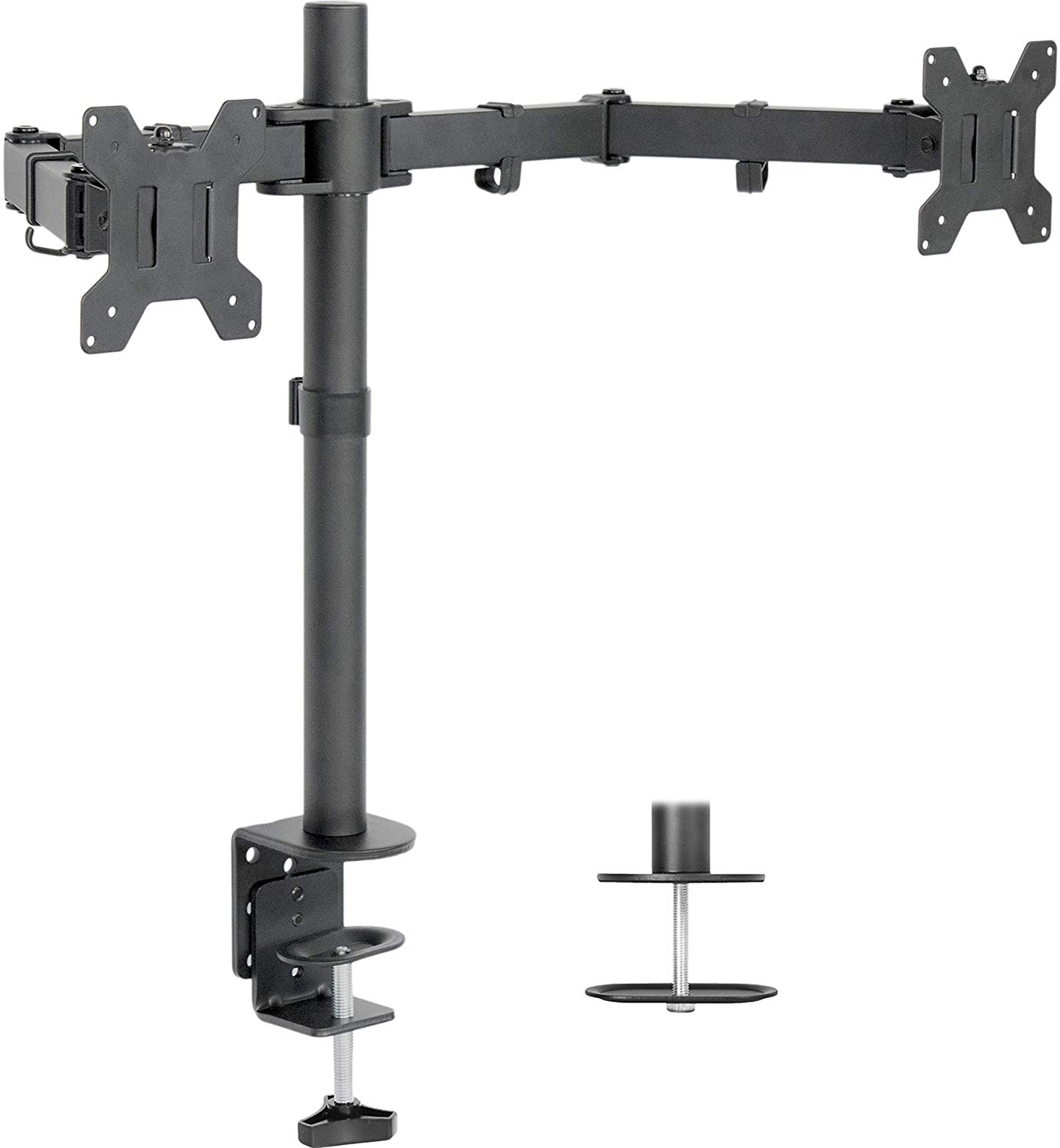 budget friendly dual monitor arm
