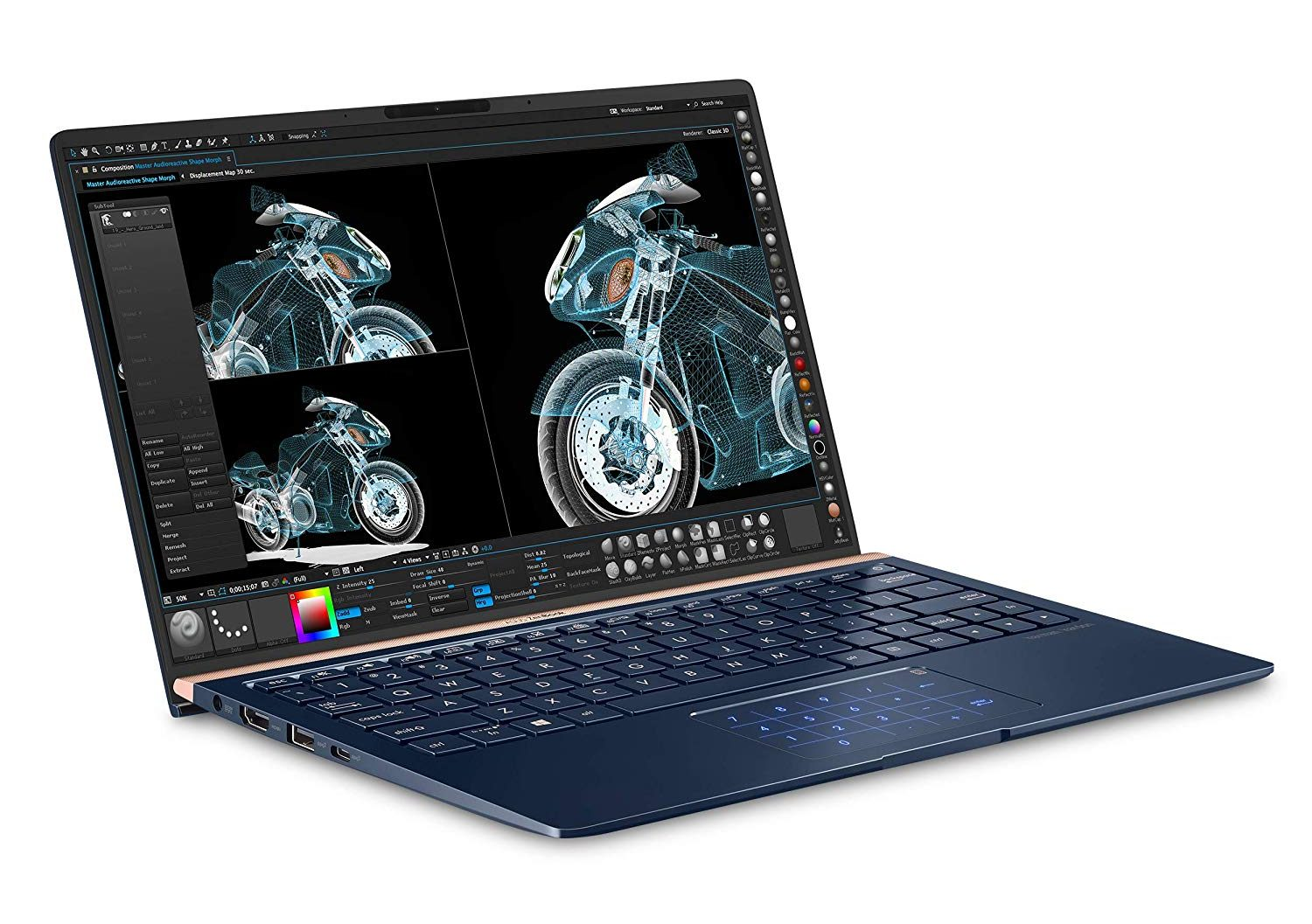asus zenbook laptop for college students