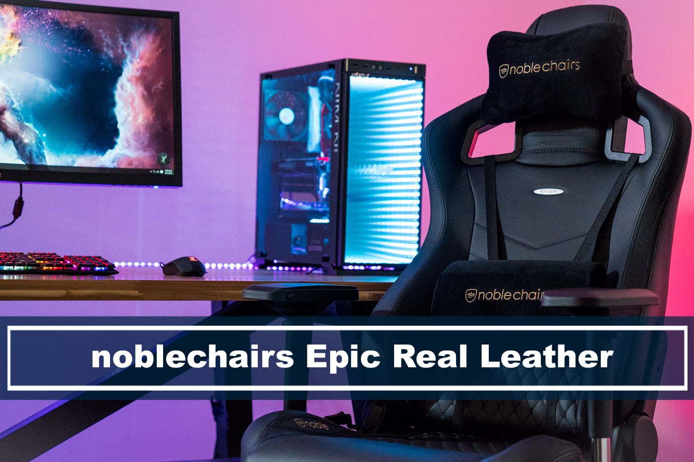Superb Our In Depth Noblechairs Epic Real Leather Gaming Review For Ibusinesslaw Wood Chair Design Ideas Ibusinesslaworg