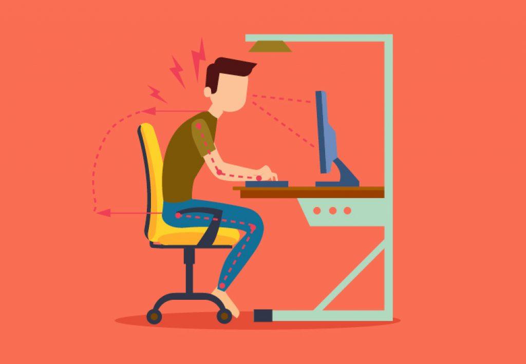fixing posture proper sitting