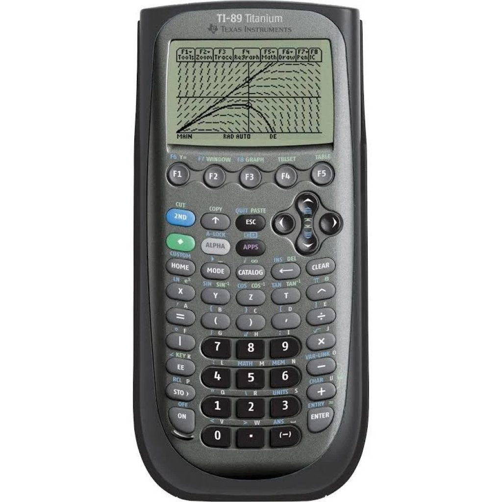 ti89 titanium graphing calculator