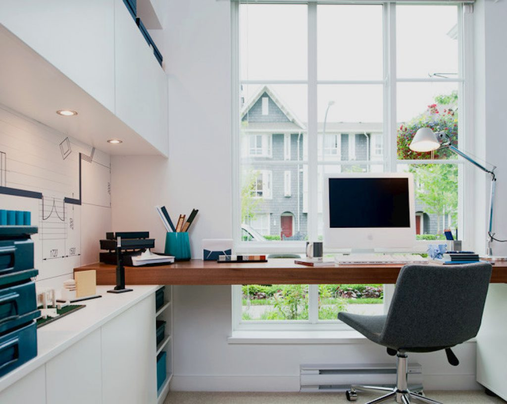 designing your workspace to work at home