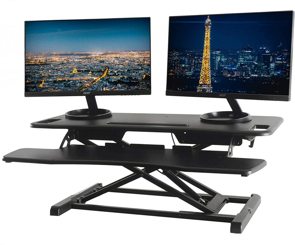 techorbits standing desk converter under $200
