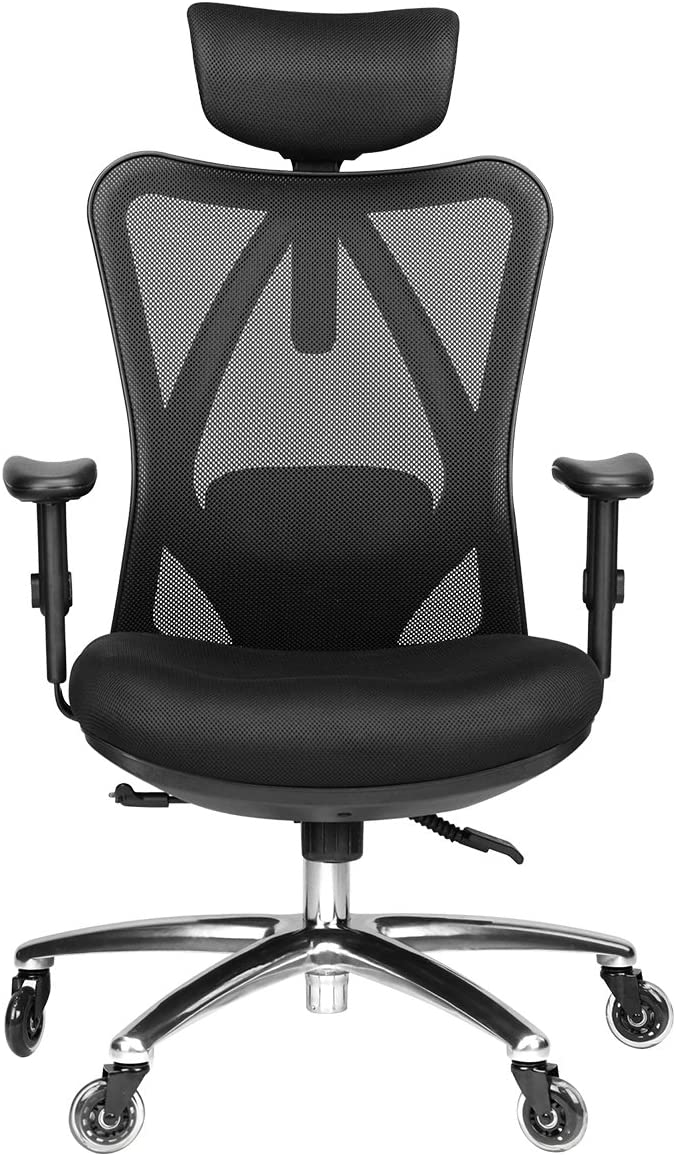duramont ergonomic reclining office chair