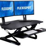 FlexiSpot Standing Desk Converter for Cubicles Corner