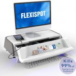 FlexiSpot Monitor Stand Workstation Laptop Stand Computer Riser with Storage Drawer USB Charging Port